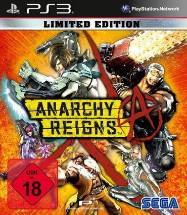 [A] Gebraucht: Anarchy Reigns Limited Edition - [PlayStation 3] - PS3 - Playstation 3