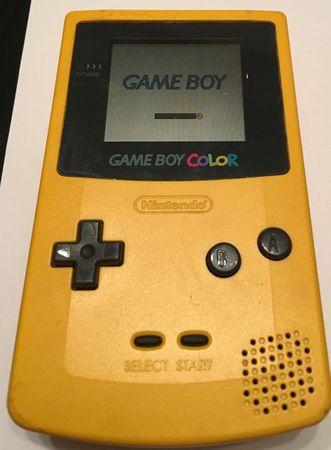 [A] Gebraucht: Game Boy Color Konsole, gelb - Nintendo GameBoy - Game Boy