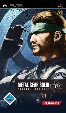[A] Gebraucht: Metal Gear Solid: Portable Ops Plus - Sony PSP