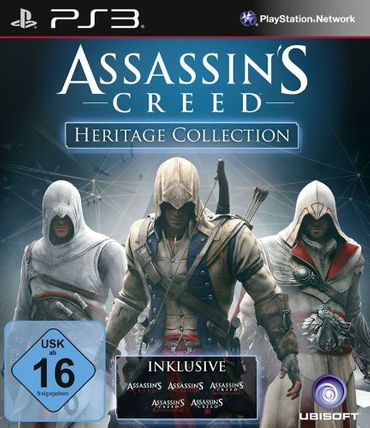 [A] Gebraucht: Assassin's Creed Heritage Collection - [PlayStation 3] - PS3 - PlayStation 3