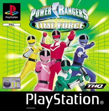 [A] Gebraucht: Power Rangers - Time Force - PS1 - Playstation 1