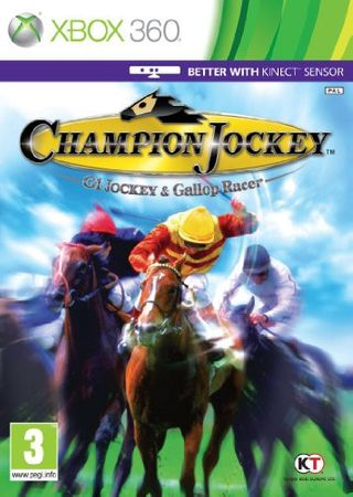[A] Gebraucht: Champion Jockey (Kinect Compatible) Game XBOX 360 [UK-Import] - XBox 360 - XBox360