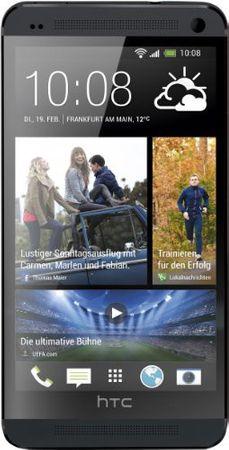 [A] Gebraucht: HTC One Smartphone (11,9 cm (4,7 Zoll) Touchscreen, Ultrapixel Kamera, 1,7 GHz, 2 GB RAM, LTE, NFC-fähig, BlinkFeed, BoomSound, MicroSIM, Android OS) schwarz