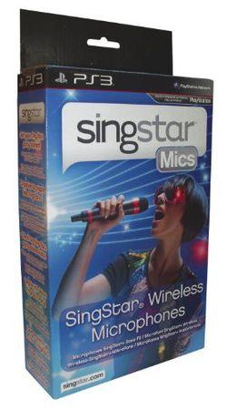 [A] Gebraucht: PlayStation 3 - Wireless SingStar Mikrophon (2 Stück) -