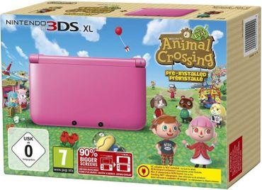 [A] Gebraucht: Nintendo 3DS XL - Konsole Pink inkl. Animal Crossing