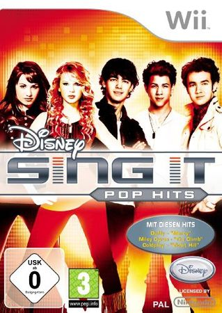 [A] Gebraucht: Disney Sing It - Pop Hits - Nintendo Wii