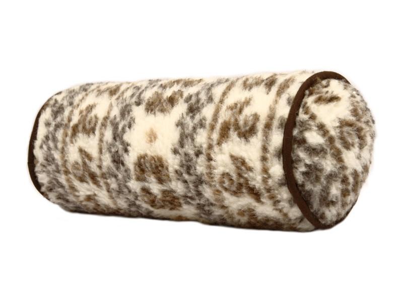 100/% Wolle Malmö 42 cm x 14 cm Handwäsche Nackenrolle Material