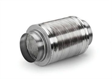 Compair Flow 150 - Schalldämpfer Aluminium 150