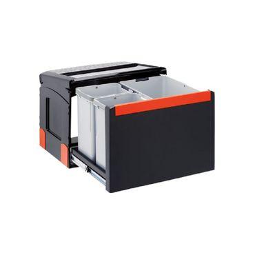 Franke Abfallsammler Cube 50 Handauszug 30 Liter (14+2x8)