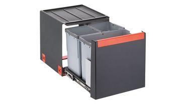 Franke Abfalltrennsystem Cube 40 Automatikauszug 28 Liter (2x7+14)
