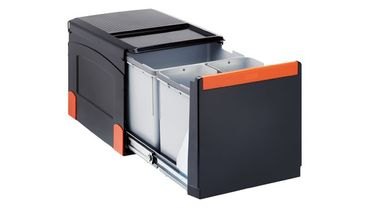 Franke Abfalltrennsystem Cube 41 Handauszug 32 Liter (2x8+18)