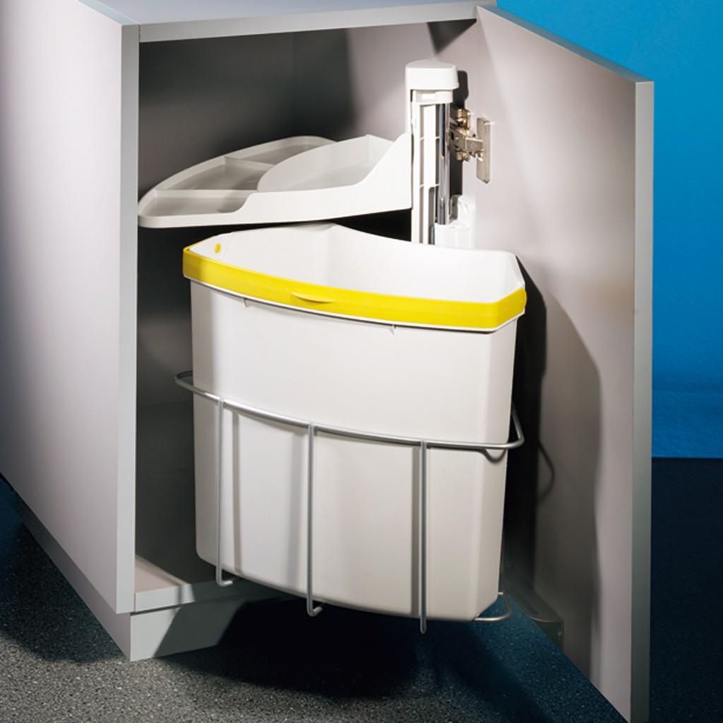 abfallsammler m lleimer cabbi junior 1 ab 40 cm schrank. Black Bedroom Furniture Sets. Home Design Ideas