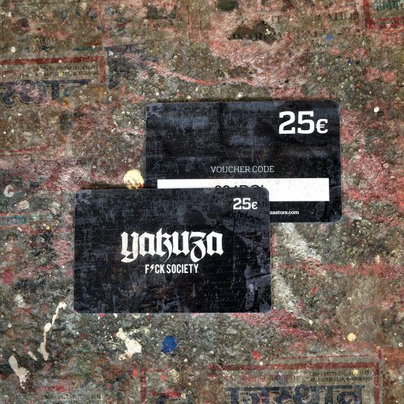 25€ Voucher Gift Card
