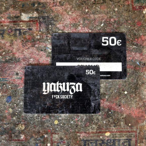 50€ Gift Card Geschenkgutschein