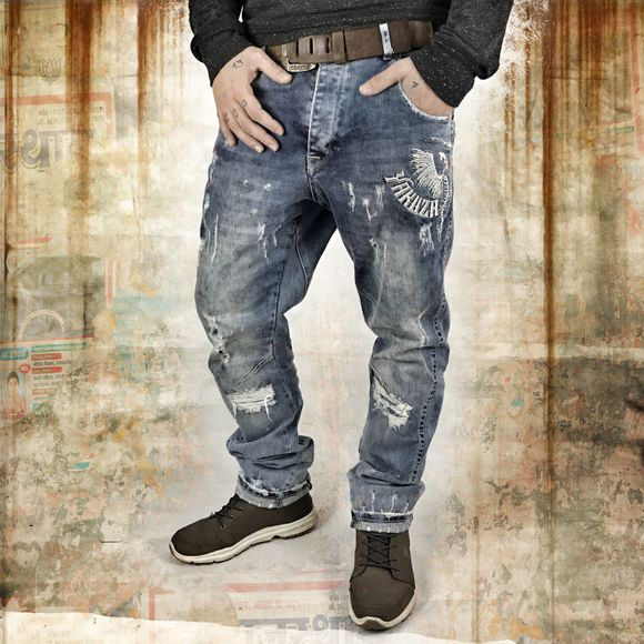 Skeleton Anti Fit Jeans