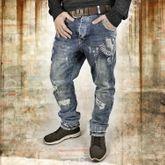 Skeleton Anti Fit Jeans