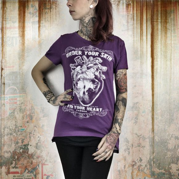 Into Your Heart Limpid Shirt