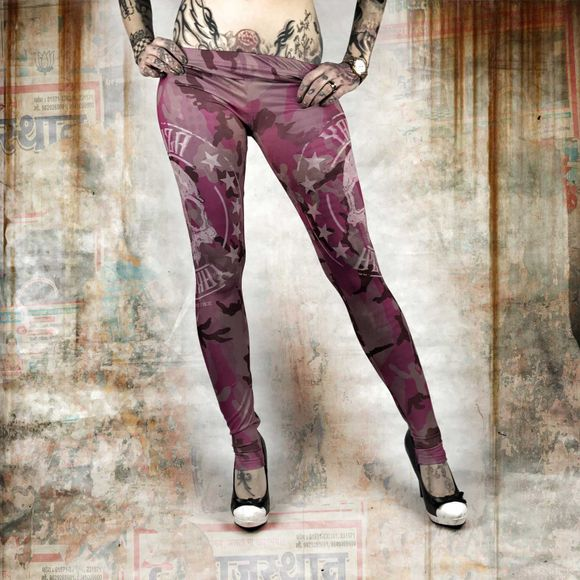 Military Lady Leggings