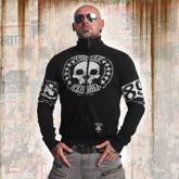 Skull Label Trainingsjacke