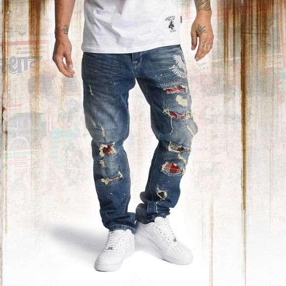 Skeleton Loose Jeans