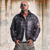 Trashed Quilted Jacket