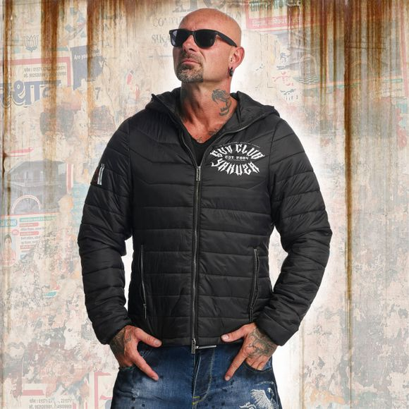 Gun Club Quilted Hooded Jacket
