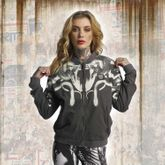 Meduse Crop Bomber Jacket
