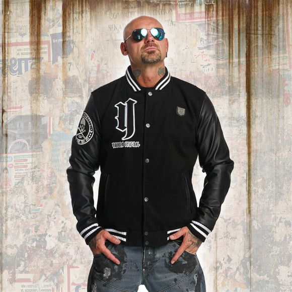 Cross Bones Collegejacke