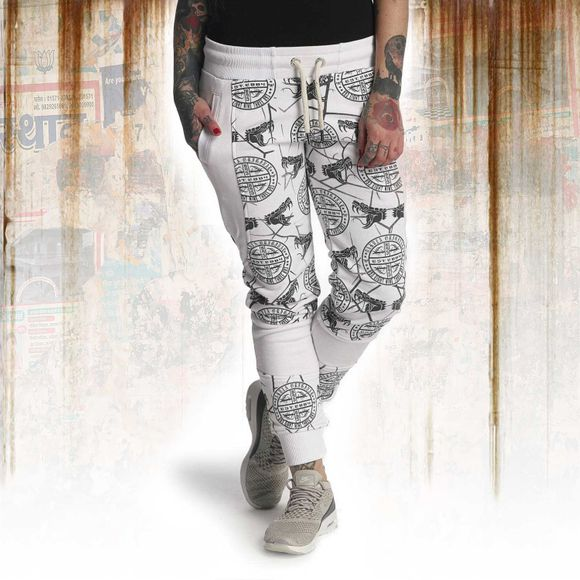 Allover Snake Sweatpants