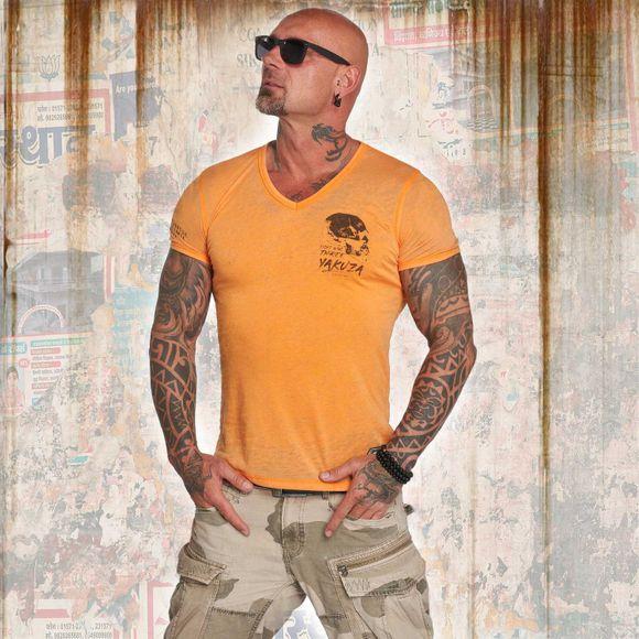Burnout V Neck T-Shirt