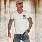 Burnout V-Neck T-Shirt