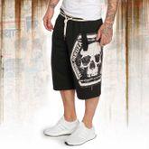 Skull Label Sweat Shorts