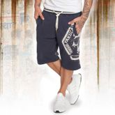 Skull Label Sweat Shorts