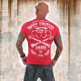 Rehab Line Brass Knuckles T-Shirt