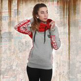 Lily Cross Neck Hoodie