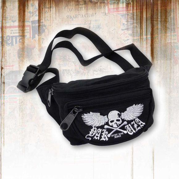 Flying Skull Belt Bag