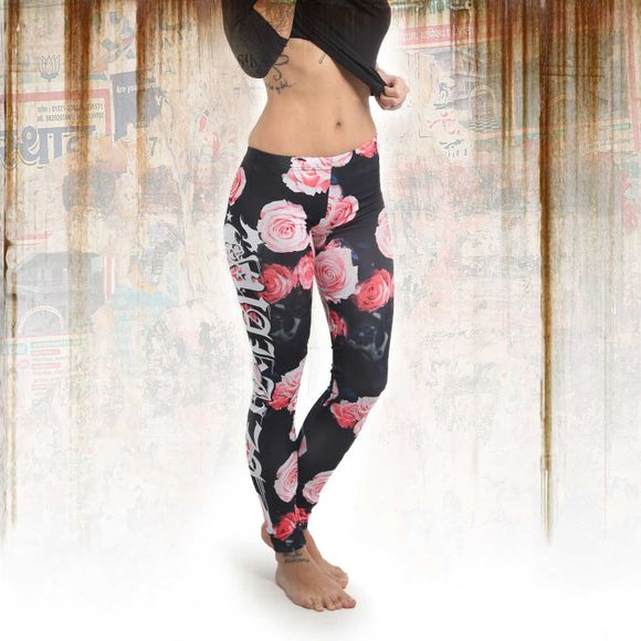 Roses V02 Leggings