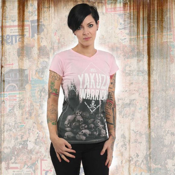 Warrior V Neck T-Shirt