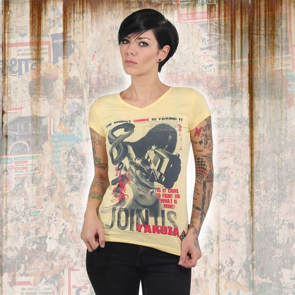 Join Us V Neck T-Shirt