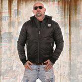 Rookie Hooded Bomber Jacket