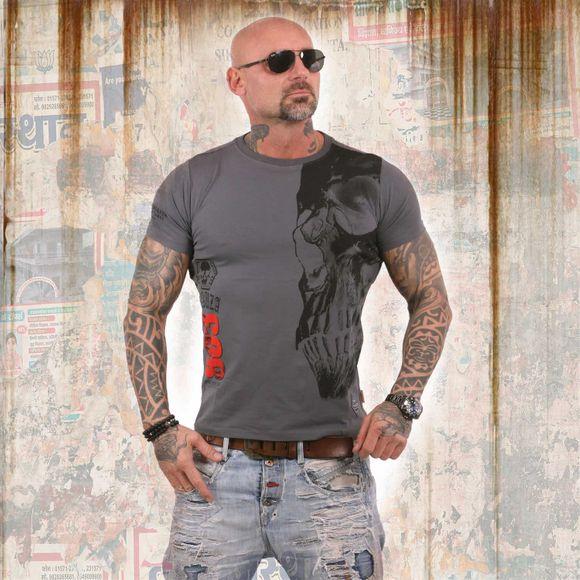Rehab Line Skull T-Shirt