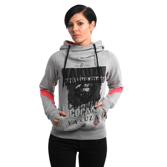 Cocaine Two Face Cross Neck Hoodie