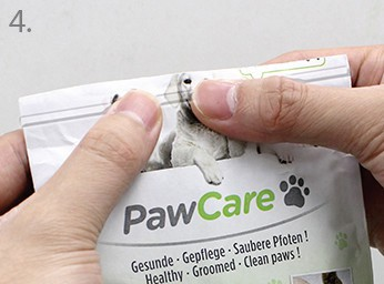 PawCare Zip Bag 100 ml - 6er Pack in einer Box – Bild 5
