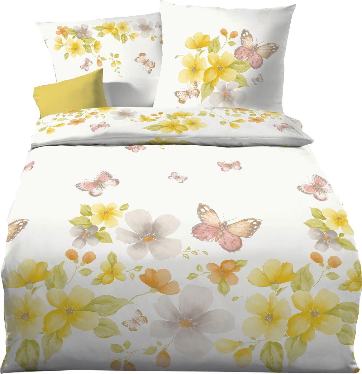 kaeppel linon renforc bettw sche 2 tlg colette honig. Black Bedroom Furniture Sets. Home Design Ideas