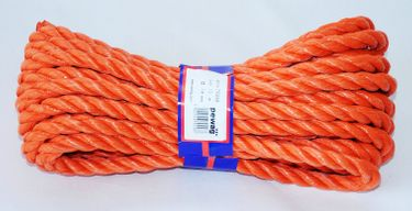 pewag Polypropylenseil 10m Kunststoffseil Orange Ø 14mm [1]