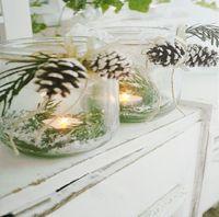 Canvas Bild flackernde Kerzen LEDs Leinwand 30x30cm Kerze Windlicht Wandbild 3