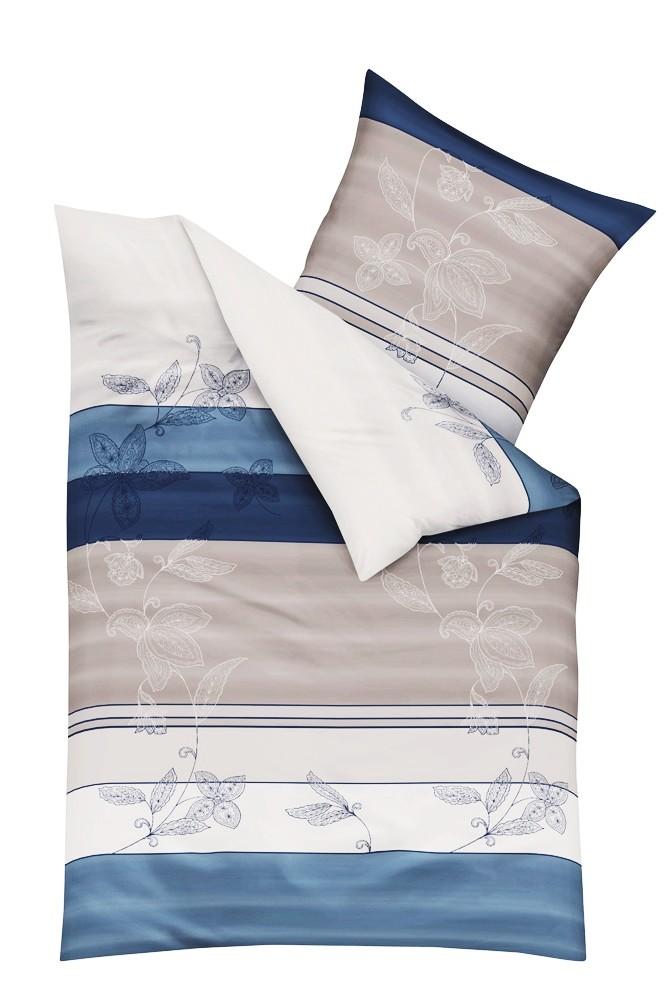 kaeppel biber bettw sche delicate indigo blau grau silber soft flowers bettw sche bettw sche. Black Bedroom Furniture Sets. Home Design Ideas