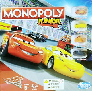 Monopoly Junior Cars 3 von Hasbro Gaming [1]