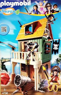 Playmobil 4796 Super 4: Getarnte Piratenfestung [1]