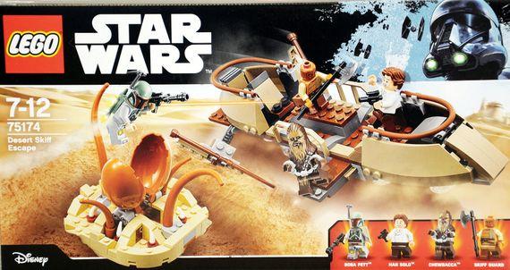LEGO 75174 Star Wars: Desert Skiff Escape